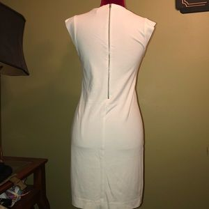 MNG Collection White Bodycon Dress Size S